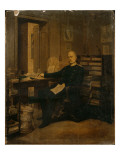 Otto Von Bismarck in His Study