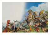The Battle of Cannae in 216 Bc