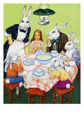 Taking Tea with Rabbits