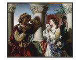 Othello and Desdemona  1859