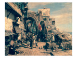 A Street Scene in Jaffa  1890
