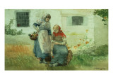 Picking Flowers  1881