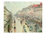 The Boulevard Montmartre  1893