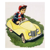 The Little Boy Who Loved Cars