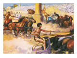 Race of the Four Horse Chariots