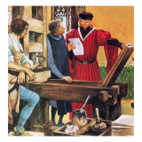 Caxton&#39;s Printing Press