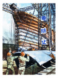 Building Ships in Japan