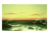 Seascape: Sunset  1861