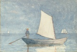 Sailing a Dory  1880