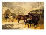A Farmyard in Winter