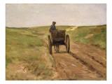 Cart in Katwijk  1889