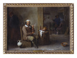 A Peasant Smoking in an Inn