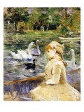 Young Girl Boating  1884