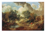 Suffolk Landscape  1748