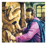 Michelangelo at Work