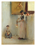 Stringing Onions  C1882