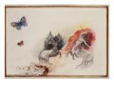 Battle of the Centaurs Giclée par Odilon Redon