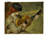 Girl with a Guitar  1897