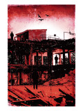 La Grande Finale 1 - Rouge Reproduction d'art par Pascal Normand