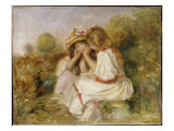Two Girls  C1890