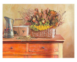 Flowers on a Sideboard III