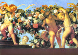 Putti Con Ghirlanda II