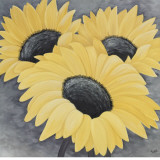 Sunflower Serenade I