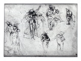 Study of Nude Men