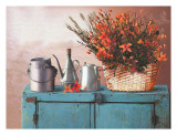 Flowers on a Sideboard II