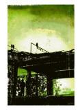 La Grande Finale 5 - Vert Reproduction d'art par Pascal Normand