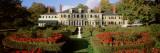 Facade of a House  Hildene Home of Robert Todd Lincoln  Manchester  Vermont  USA