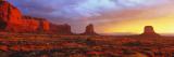 Sunrise  Monument Valley  Arizona  USA