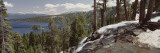 High Angle View of the Eagle Falls  Emerald Bay  Lake Tahoe  California  USA