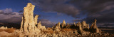 Panoramic View of Tufa Formations  Mono Lake  California  USA