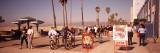 People Walking on the Sidewalk  Venice  Los Angeles  California  USA