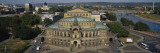 High Angle View of an Opera House  Semper Opera House  Dresden  Germany