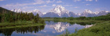 Mount Moran  Snake River  Oxbow Bend  Grand Teton National Park  Wyoming USA