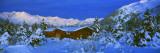 Cabin Mount Alyeska  Alaska  USA