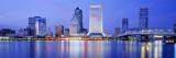 Night  Jacksonville  Florida  USA