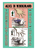 Alice in Wonderland: The White Rabbit and Alice's Big Hand