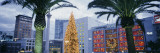 Decorated for Christmas/Winter Holidays  Union Square  San Francisco  California  USA