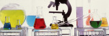 Close-up of Laboratory Equipment