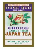 Rose Bud Brand Tea