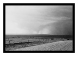Dust Storm near Mills  New Mexico