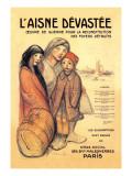 L'Aisne Devastee  c1918