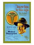 Know Him By This Sign  Join the Medical Department  US Army
