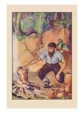 Robinson Crusoe: I Wanted No Sort of Earthenware