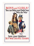 Boys and Girls  War Savings
