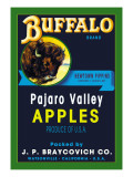 Buffalo Brand Apples