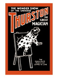 Painting to Life: Thurston the Great Magician the Wonder Show of the Universe